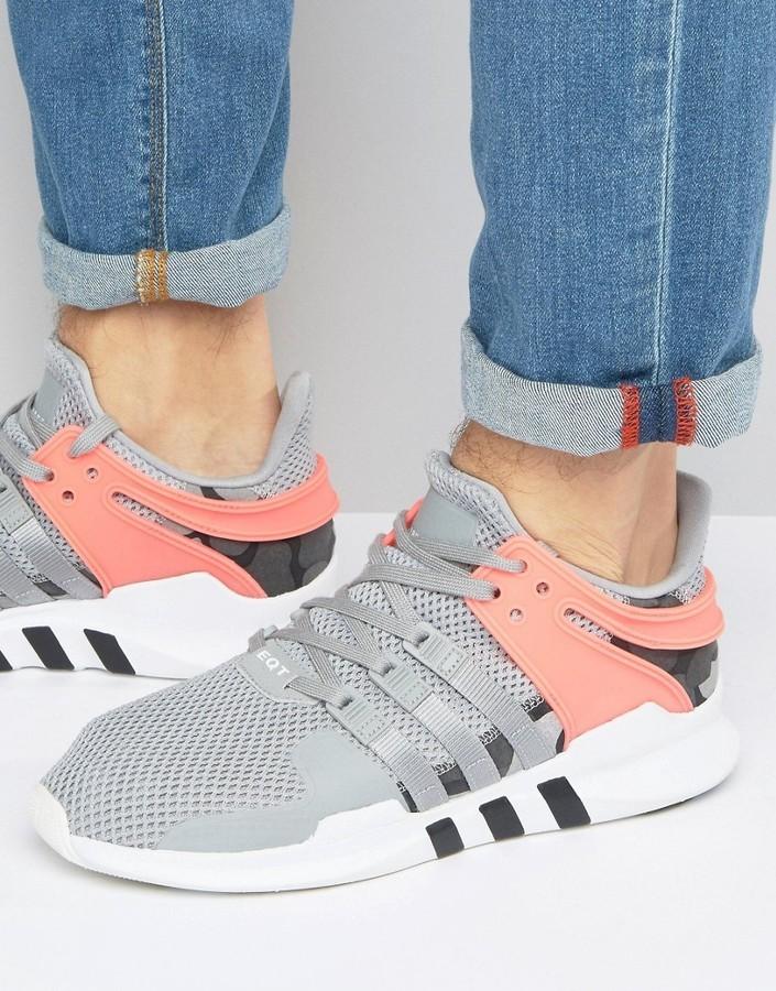 techo Periodo perioperatorio Esperanzado  adidas Originals Eqt Support Advance Sneakers In Gray Bb2792, $75 | Asos |  Lookastic