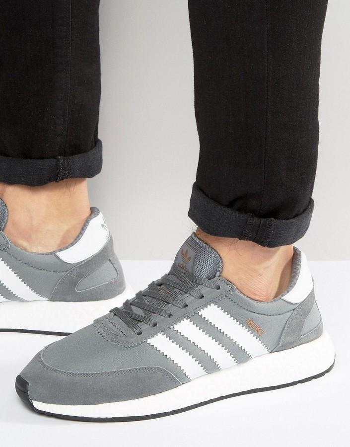 fresh styles great fit beauty $120, adidas Originals Iniki Runner Sneakers In Gray Bb2089