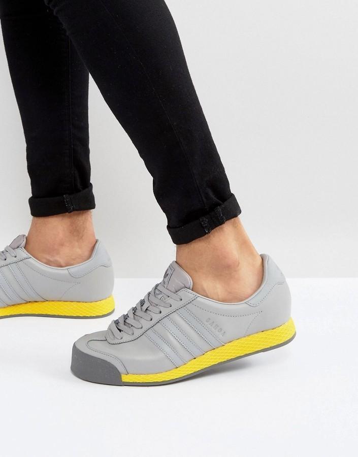adidas originals samoa vintage - sneakers in grau bb8597, wo