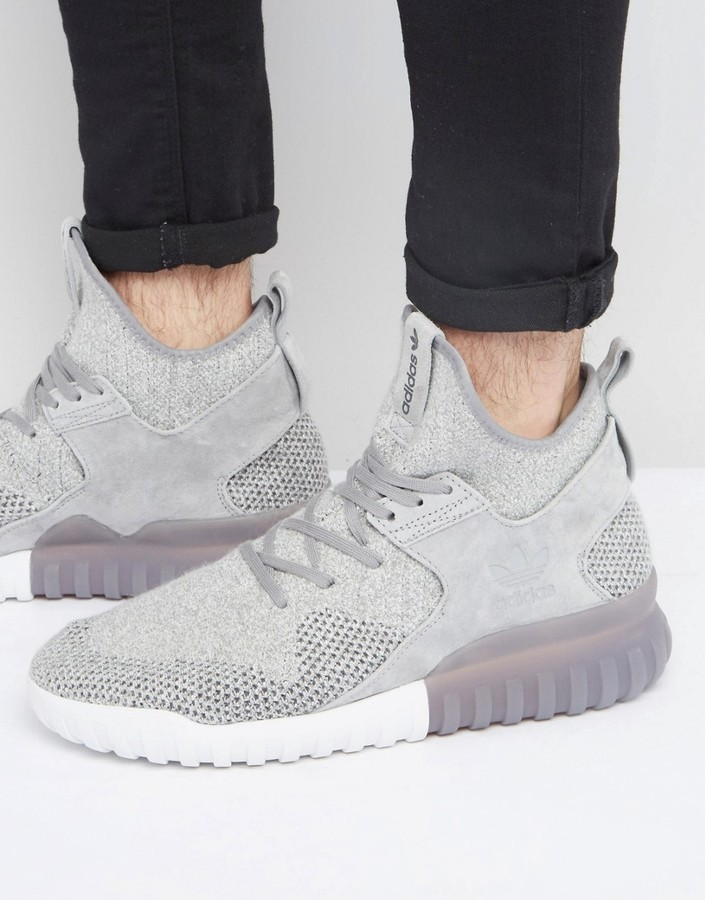 best website e993f 55b1b ... adidas Originals Tubular X Pk Sneakers In Gray Bb2380 ...
