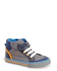 See Kai Run Boys Andy High Top Sneaker