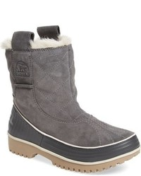 Grey Snow Boots