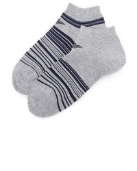 Emporio Armani 2 Pack Stretch Cotton Sneaker Socks