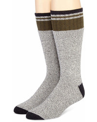 Dickies 2 Pk Thermal Striped Boot Socks