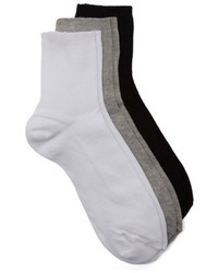 3 pack ankle socks medium 4952379