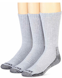 Dickies 3 Pk Heavyweight Cushioned Crew Socks