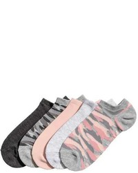 H&M 5 Pack Ankle Socks