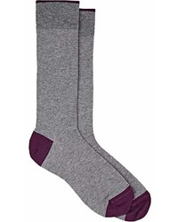 Barneys New York Cotton Blend Mid Calf Socks