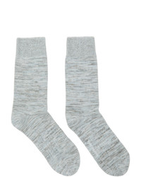 Norse Projects Grey Blend Bjarki Socks