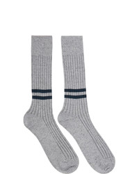 Ermenegildo Zegna Grey Everything Socks