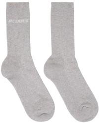 Jacquemus Grey La Montagne Les Chaussettes Socks