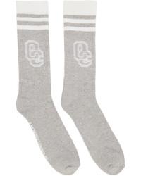 Opening Ceremony Grey Logo Socks