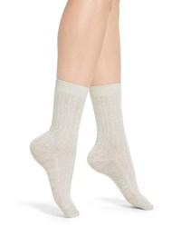 Treasure & Bond Marled Knit Crew Socks