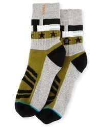 Stance X Dwayne Wade Decorated Socks Gray