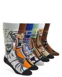 Stance Star Wars Light Side 6 Pack Socks