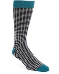 Ted Baker London Dot Organic Cotton Blend Socks
