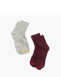 Madewell Two Pack Ribbed Ankle Socks