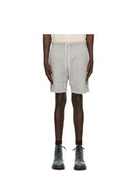 Grey Sports Shorts