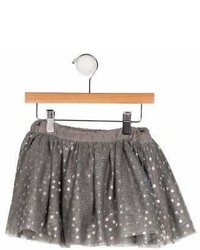 Stella McCartney Girls Printed Tulle Skirt