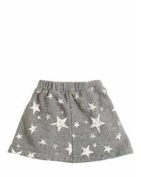 Stars Print Cotton Skirt