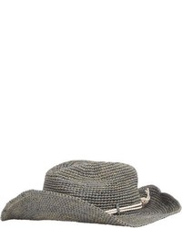 Hat Attack Crochet Continental Hat Grey