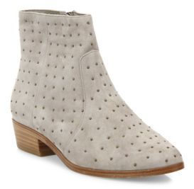 Joie Lacole Studded Suede Booties, $151