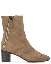Grey lexie 55 suede ankle boots medium 4394909