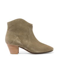 Isabel Marant Toile The Dicker Suede Ankle Boots
