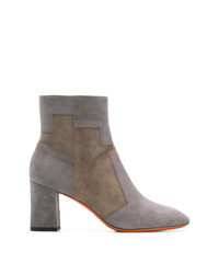 Two tone ankle boots medium 8341439