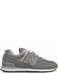 New Balance Classic 574 Suede Lace Up Sneakers