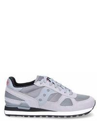 Saucony Grey Suede Sneakers