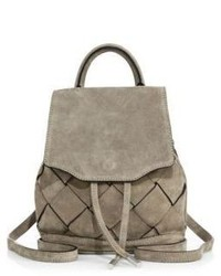 Rag & Bone Micro Pilot Suede Backpack