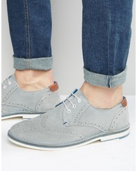 0a024f574 Men s Grey Suede Brogues by Ted Baker