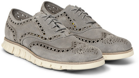 Cole Haan Zerogrand Wing Suede Oxford