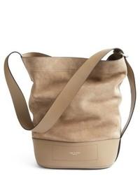 Rag & Bone Rag And Bone Walker Sling Leather Suede Bucket Bag