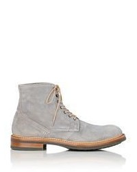 Antonio Maurizi Suede Boots Grey Size 11
