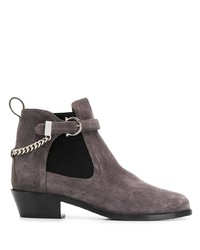 Salvatore Ferragamo Ankle Boots With Buckle Detail