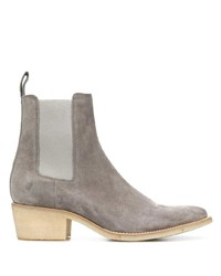 Amiri Low Heel Ankle Boots
