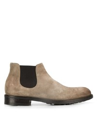 Doucal's Slip On Suede Chelsea Boots