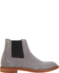 e23cd179809a Barneys New York Suede Chelsea Boots Grey, $350   Barneys New York ...