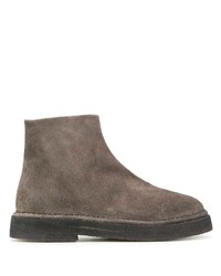 Marsèll Textured Round Toe Boots