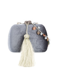 Serpui Embellished Clutch Bag