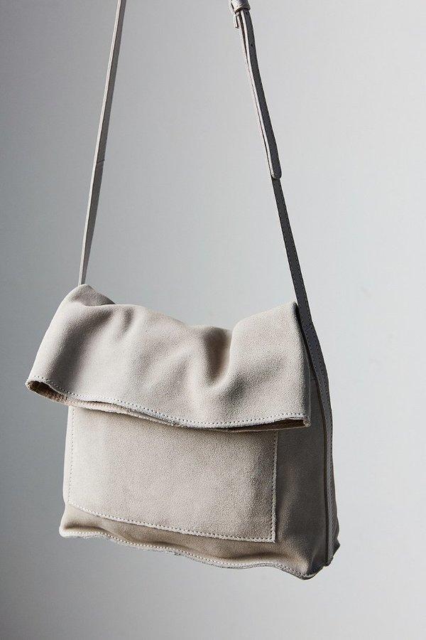... Grey Suede Crossbody Bags BDG Lindstrom Fold Crossbody Bag ... fb0cd99b49225