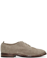 Grey suede princeton derbys medium 1249770