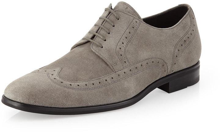 grey hugo boss shoes