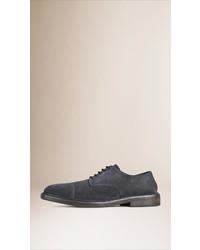 Burberry Suede Derby Shoe
