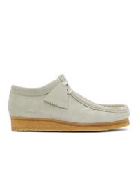Palm Angels Grey Clark Originals Edition Wallabee Desert Boots