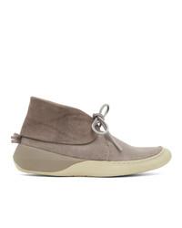 VISVIM Grey Flynt Ii Folk Sneakers