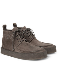Marsèll Washed Suede Desert Boots