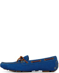 Brooks Brothers Suede Tie Driving Mocs